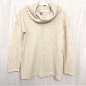 A New Day Cream Knit Cowl Neck Sweater